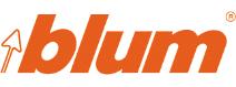 logo Blum pomarańczowe